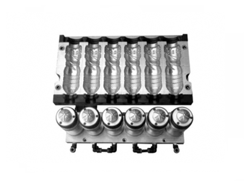 6腔全自动吹瓶模具(7075航空铝)